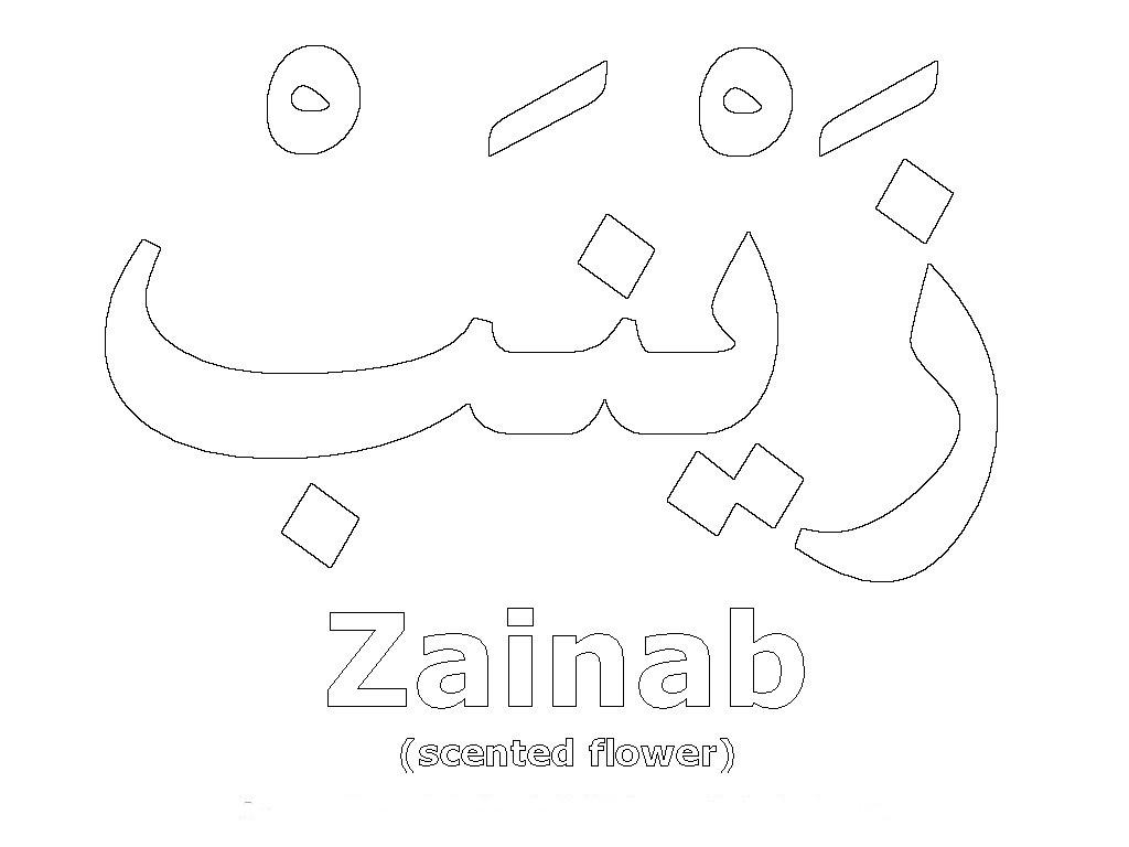 Simple Wallpaper Name Arabic - name_zainab  Gallery_682886.jpg